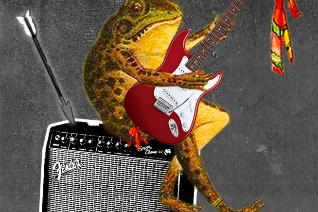 The Crick Crack Club presents The Frog Princess Punked