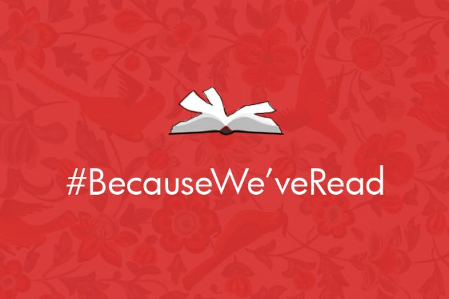 #BECAUSEWE'VEREAD BOOK CLUB