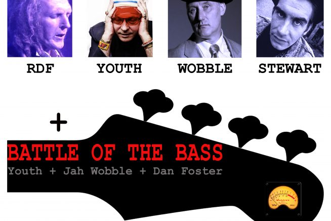 RDF vs Youth, Jah Wobble and Mark Stewart!