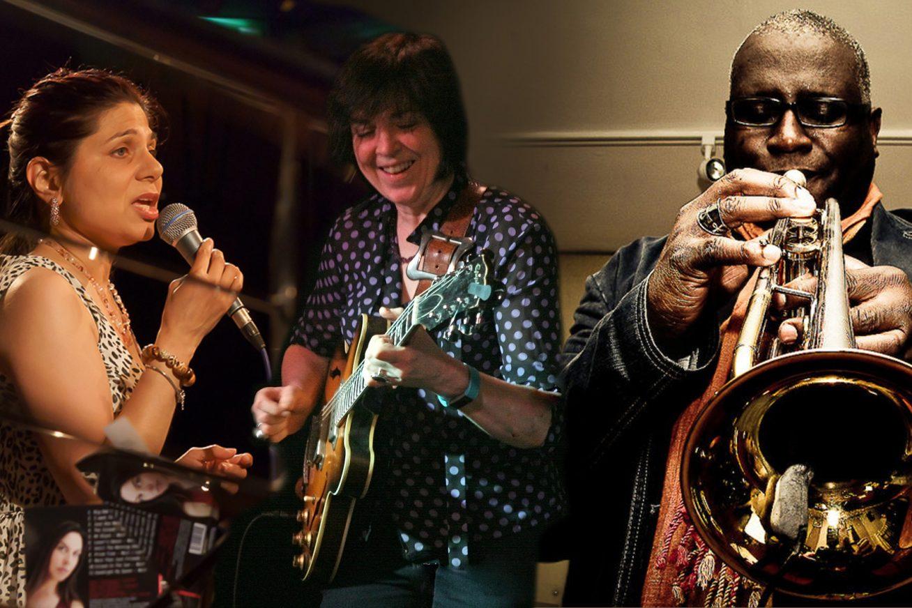 three passionate musicians