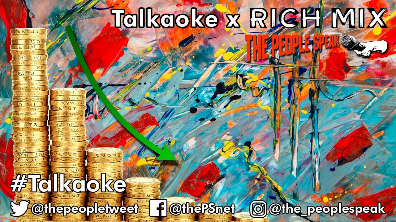 Talkaoke promotional graphic by Ricardo Sleiman