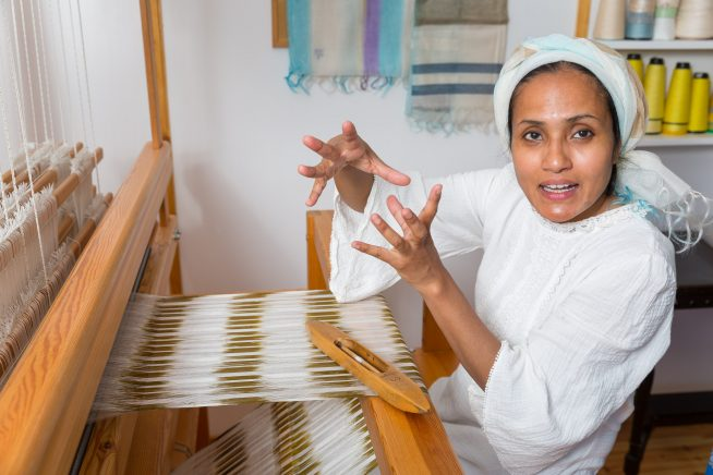 Online: Everyone A Maker – Weaving with Rezia Wahid