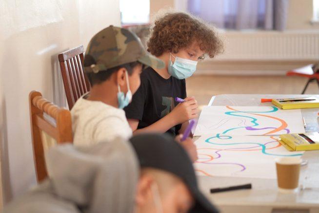 Community Mural: Family Workshops